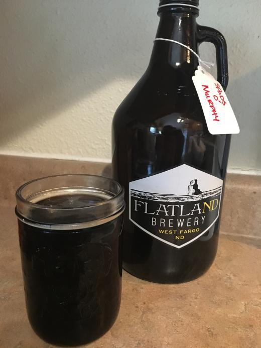 Flatland Brewery Spuds O'Murphy's (Dry Stout) - Brewzeit com
