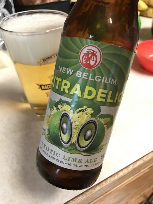 New Belgium Citradelic Lime Ale Lime Ale Brewzeit Com